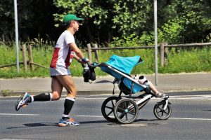 Jogging with baby